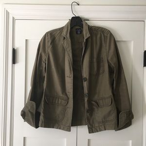 Gap army style jacket